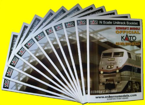 KATO UNITRACK N SCALE BOOKLET
